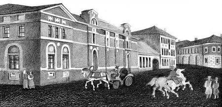 Школьная и Тулинская улицы