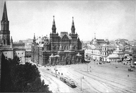 Photo of Трамвай на Красной площади (1909 год)