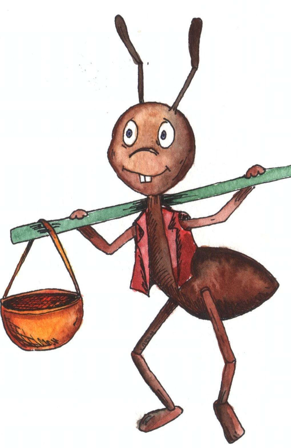Прикольные картинки про муравьев