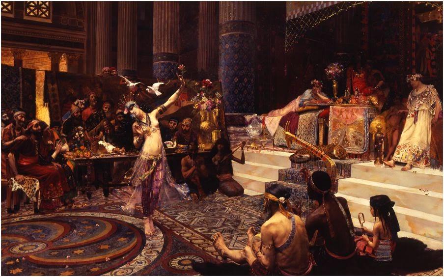 Танец Саломеи (иудейская принцесса, дочь Иродиады, падчерица Ирода Антипы)